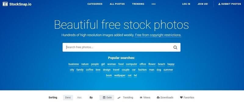 Stocksnap free stock photos download