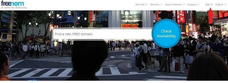freenom home free domain