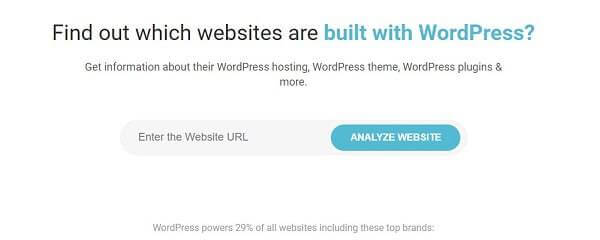 how to detect wp theme using isitwp tool