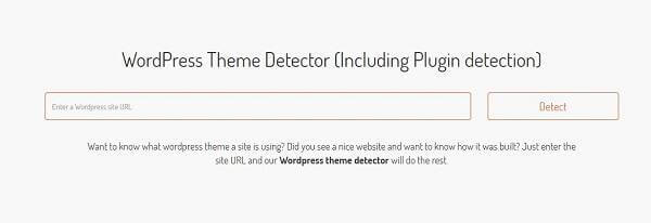 how to detect wp theme using scanwp tool