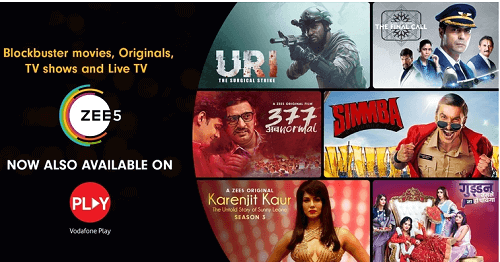 Vodafone Launched Vodafone Play Website for Live TV